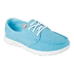 Women's Skechers On the GO Mist Boat Shoe Turquoise