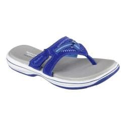 Women's Skechers Relaxed Fit Bayshore Paddle Thong Sandal Navy