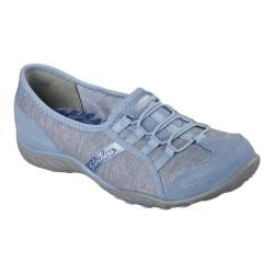 Women's Skechers Relaxed Fit Breathe Easy Pretty Lady Slip On Blue