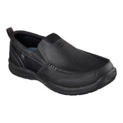 Men's Skechers Relaxed Fit Elected Brano Loafer Black