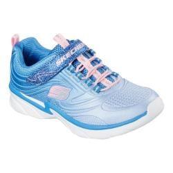 Girls' Skechers Swirly Girl Shine Vibe Sneaker Blue/Pink