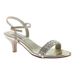 Women's Dyeables Sage Ankle Strap Sandal Gold Shimmer