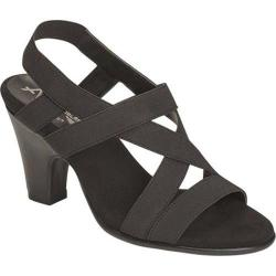 Women's A2 by Aerosoles Scone Dress Sandal Black Patent