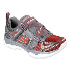 Boys' Skechers Neutron Sneaker Charcoal/Red