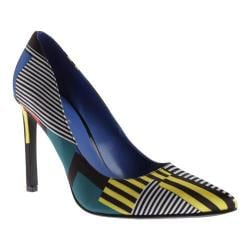 Women's Nine West Tatiana Pump Blue Multi Fabric
