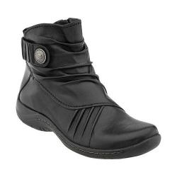 Women's Earth Thyme Ankle Boot Black Calf Leather
