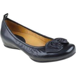 Women's Earthies Rubio Black Silky