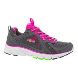 Women's Fila Threshold 2 Castlerock/Knockout Pink/Green Gecko