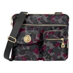 Women's baggallini ICB872 Gold Sydney Bagg Mid Floral