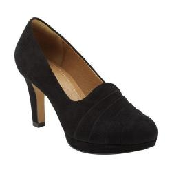 Women's Clarks Delsie Joy Black Suede