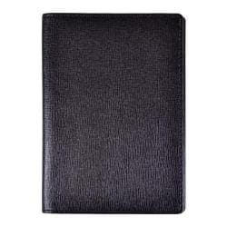Royce Leather Full Grain Nappa Cowhide Passport Jacket Black