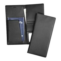 Royce Leather RFID Blocking Passport Ticket Holder 211-5 Black