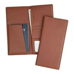 Royce Leather RFID Blocking Passport Ticket Holder 211-5 Tan
