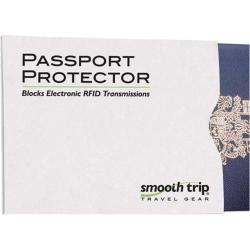 Smooth Trip RFID Passport Protector (Set of 5) White