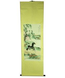 Riverside Stallion Scroll (China)
