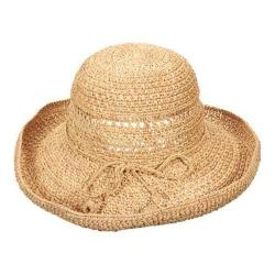 Women's Callanan CR234 Up Turn Brim Sun Hat Natural
