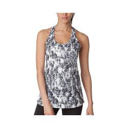 Women's Fila Loose Fit Printed Tank Top White/Black Print