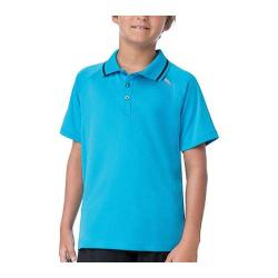 Boys' Fila Pro Polo Shirt Ocean Blue/Black