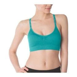 Women's Fila Seamless Camisole Bra Emerald Teal