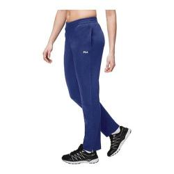 Women's Fila Trackster Pant Navy Power