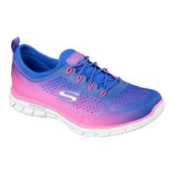 Women's Skechers Glider Fearless Royal/Hot Pink