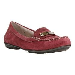 Women's Naturalizer Kaster Loafer Classic Cordovan Suede