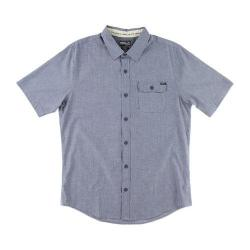 Men's O'Neill Emporium Solid Short Sleeve Shirt Blue