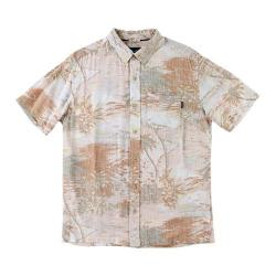 Men's O'Neill Oahu Dos Short Sleeve Shirt Dark Coral