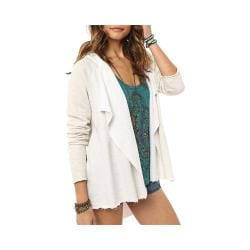 Women's O'Neill Sand Bar Hooded Cardigan Oatmeal Heather