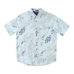 Men's O'Neill Schoolin Short Sleeve Shirt Ice Blue
