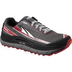 Men's Altra Footwear Olympus 2.0 Trail Shoe Charcoal/Racing Red