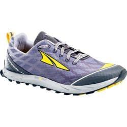 Men's Altra Footwear Superior 2.0 Silver/Cyber Yellow