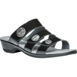 Women's Propet Annika Slide Black Patent Leather