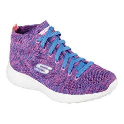 Women's Skechers Burst Divergent High Top Purple/Blue