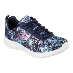 Women's Skechers Burst Illuminations Lace Up Navy/Multi