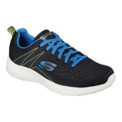 Men's Skechers Energy Burst Second Wind Training Shoes Black/Blue