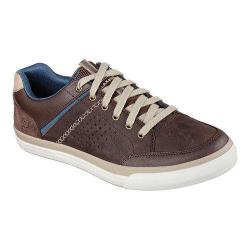 Men's Skechers Relaxed Fit Diamondback Rendol Sneaker Dark Brown
