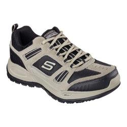 Men's Skechers Relaxed Fit Double Down Training Shoe Taupe/Black