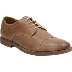 Men's Bostonian Verner Cap Toe Derby Brown Leather