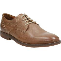 Men's Bostonian Verner Plain Toe Derby Brown Leather