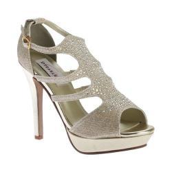 Women's Dyeables Irie T-Strap Platform Sandal Gold Shimmer