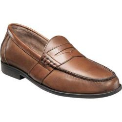 Men's Nunn Bush Kent Loafer Saddle Tan Leather