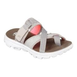 Women's Skechers GOwalk Move Relax Sandal Taupe