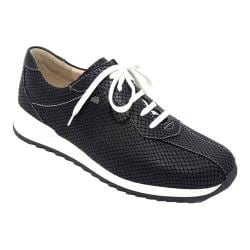 Women's Finn Comfort Sarnia Lace Up Shoe Nero/Black Aspide/Nappa