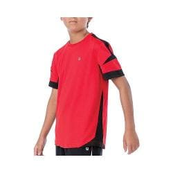 Boys' Fila Adrenaline Contrast Crew Chinese Red/Black