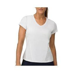 Women's Fila Core Short Sleeve Top White/White