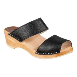 Women's Troentorp Bastad Clogs Karin Onyx Leather