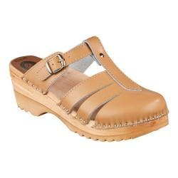Women's Troentorp Bastad Clogs Mary Jane Sand Leather