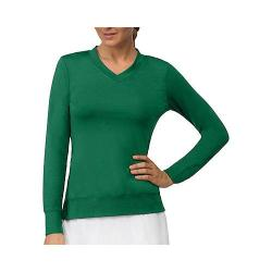 Women's Fila Core Long Sleeve Top Team Forest Green