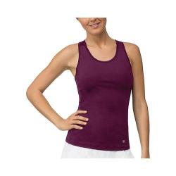 Women's Fila Core Racerback Tank Top Team Maroon